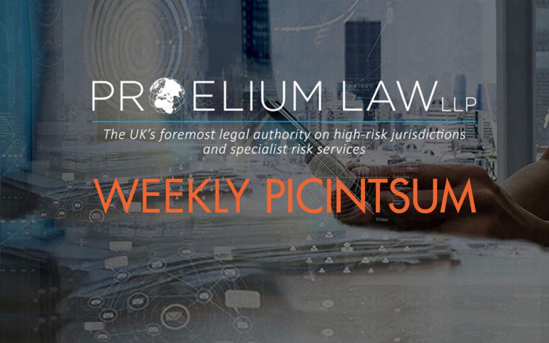 PROELIUM LAW WEEKLY PICINTSUM  – 10/01/2018