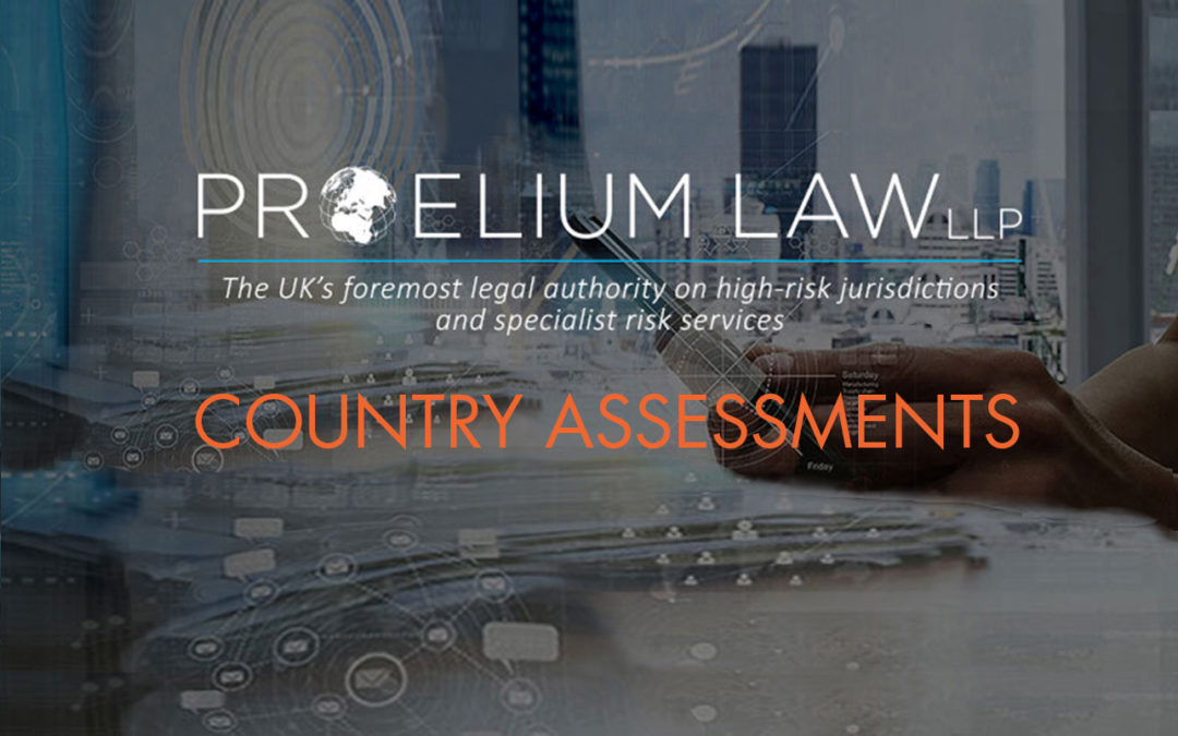 PROELIUM LAW COUNTRY ASSESSMENT – 17/01/20178