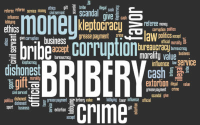 Bribery convictions hit an all-time high in the UK in 2017